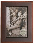 Earth Care Eco Friendly Tabletop and Wall Frames-712 5x7-Plateau-2 Tone Espresso-Photo Horizontal and Vertical With Easel and Hanger